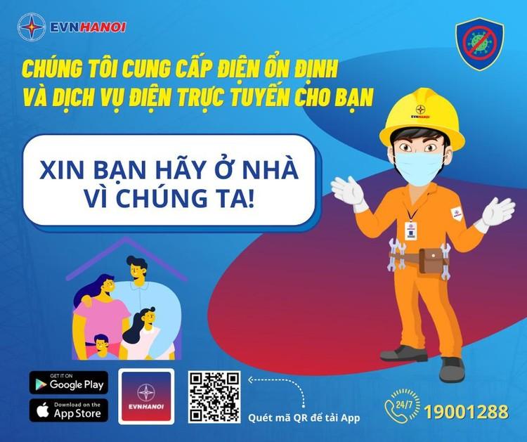 EVNHANOI: Sử dụng dịch vụ điện trực tuyến - thanh toán tiền điện mọi lúc, mọi nơi ảnh 1