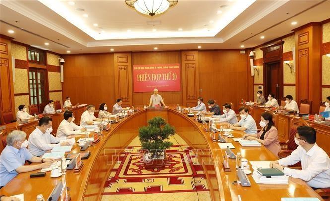 Tổng Bí thư Nguyễn Phú Trọng chủ trì Phiên họp thứ 20 của Ban Chỉ đạo Trung ương về phòng, chống tham nhũng ảnh 1