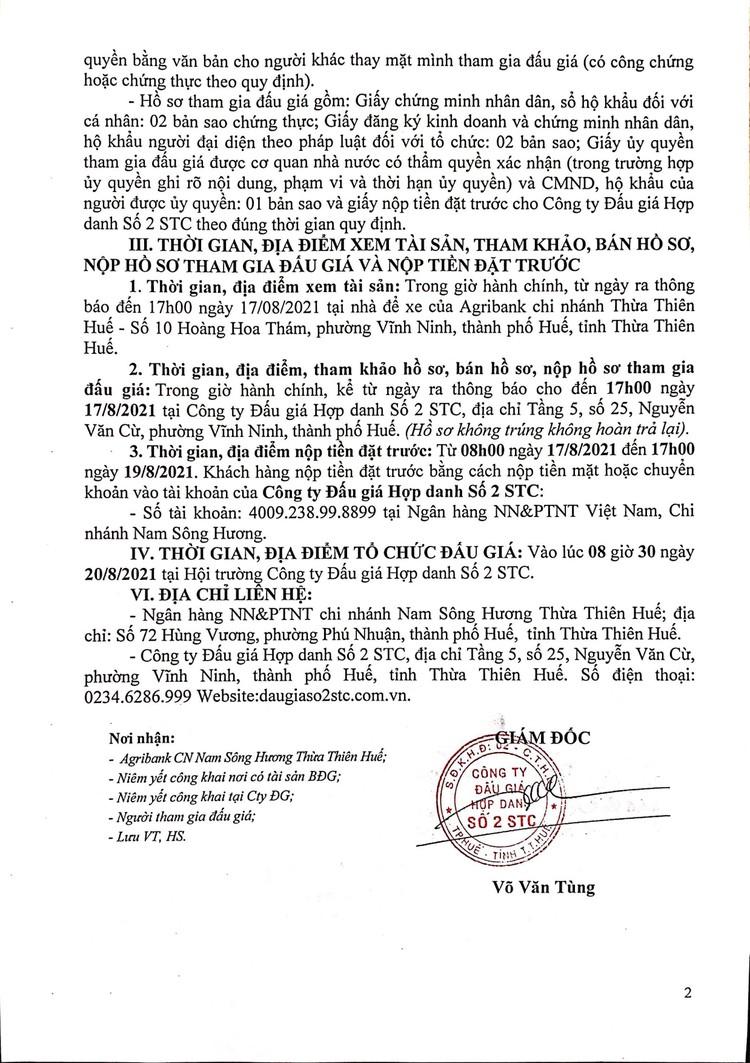 Ngày 20/8/2021, đấu giá xe ô tô Ford tại tỉnh Thừa Thiên Huế ảnh 3