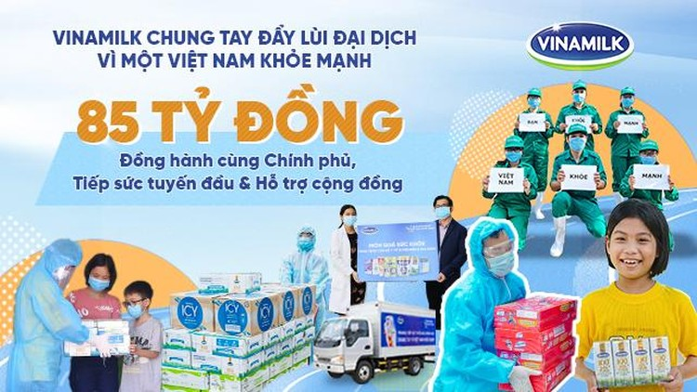Vinamilk trao tặng món quà đến 10.000 cán bộ y tế tuyến đầu tại nhiều bệnh viện trên cả nước ảnh 7
