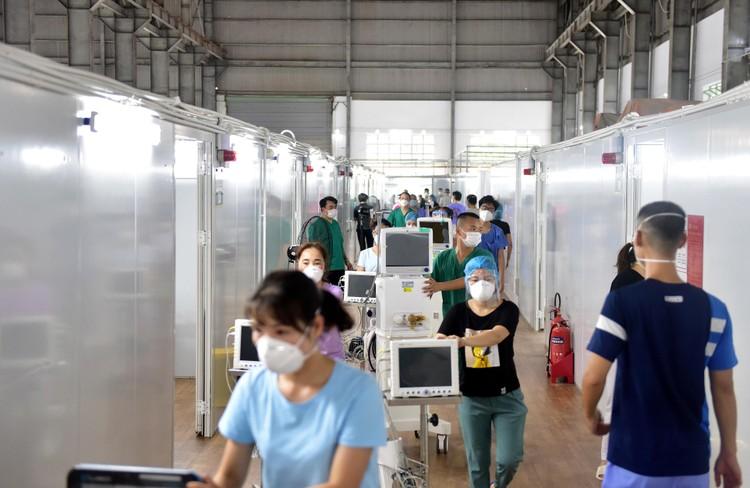 3 trung tâm hồi sức tích cực 1.500 giường chính thức hoạt động tại TP.HCM ảnh 5