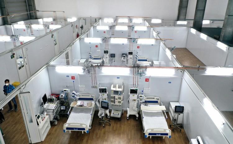 3 trung tâm hồi sức tích cực 1.500 giường chính thức hoạt động tại TP.HCM ảnh 6