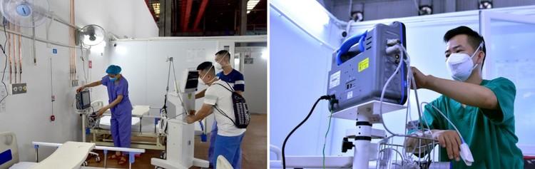 3 trung tâm hồi sức tích cực 1.500 giường chính thức hoạt động tại TP.HCM ảnh 7