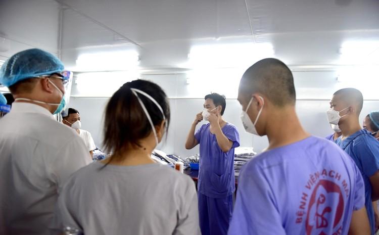 3 trung tâm hồi sức tích cực 1.500 giường chính thức hoạt động tại TP.HCM ảnh 9