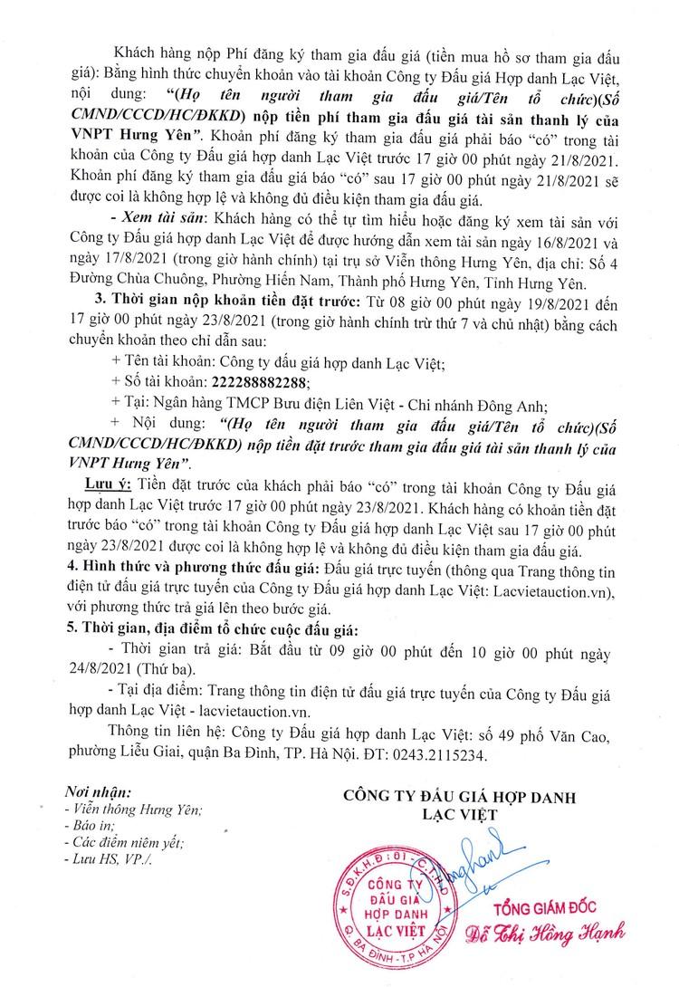 Ngày 24/8/2021, đấu giá xe ô tô Toyota Corolla tại tỉnh Hưng Yên ảnh 3