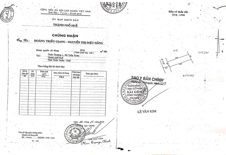 Ngày 10/9/2021, đấu giá quyền sử dụng đất tại thành phố Huế, tỉnh Thừa Thiên Huế ảnh 6