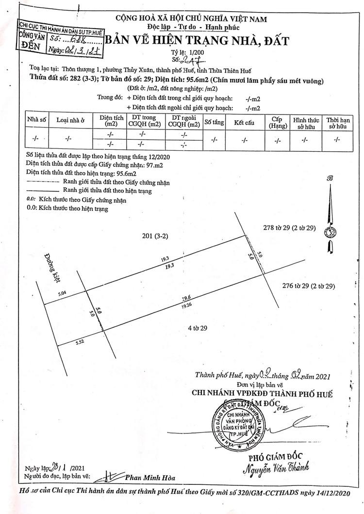 Ngày 10/9/2021, đấu giá quyền sử dụng đất tại thành phố Huế, tỉnh Thừa Thiên Huế ảnh 7