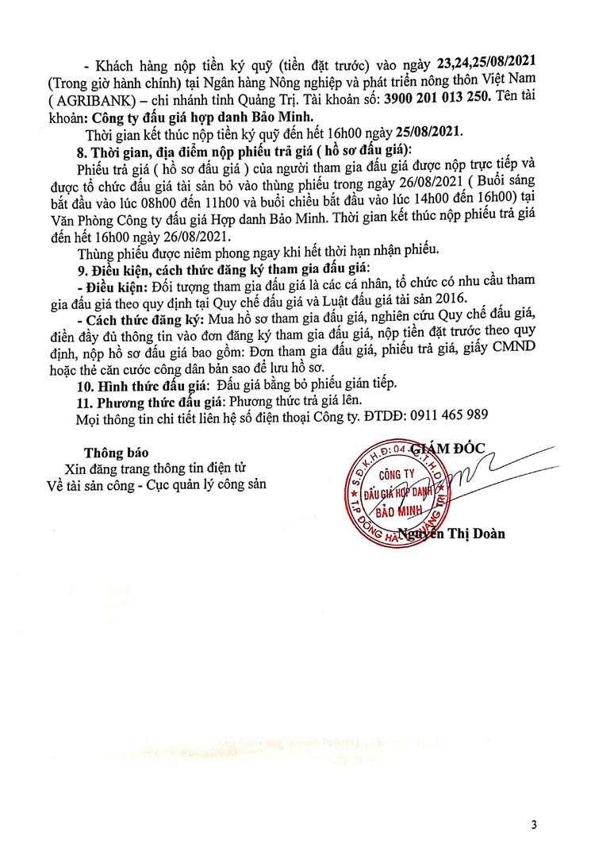 Ngày 27/8/2021, đấu giá xe ô tô Mazda tại tỉnh Quảng Trị ảnh 4