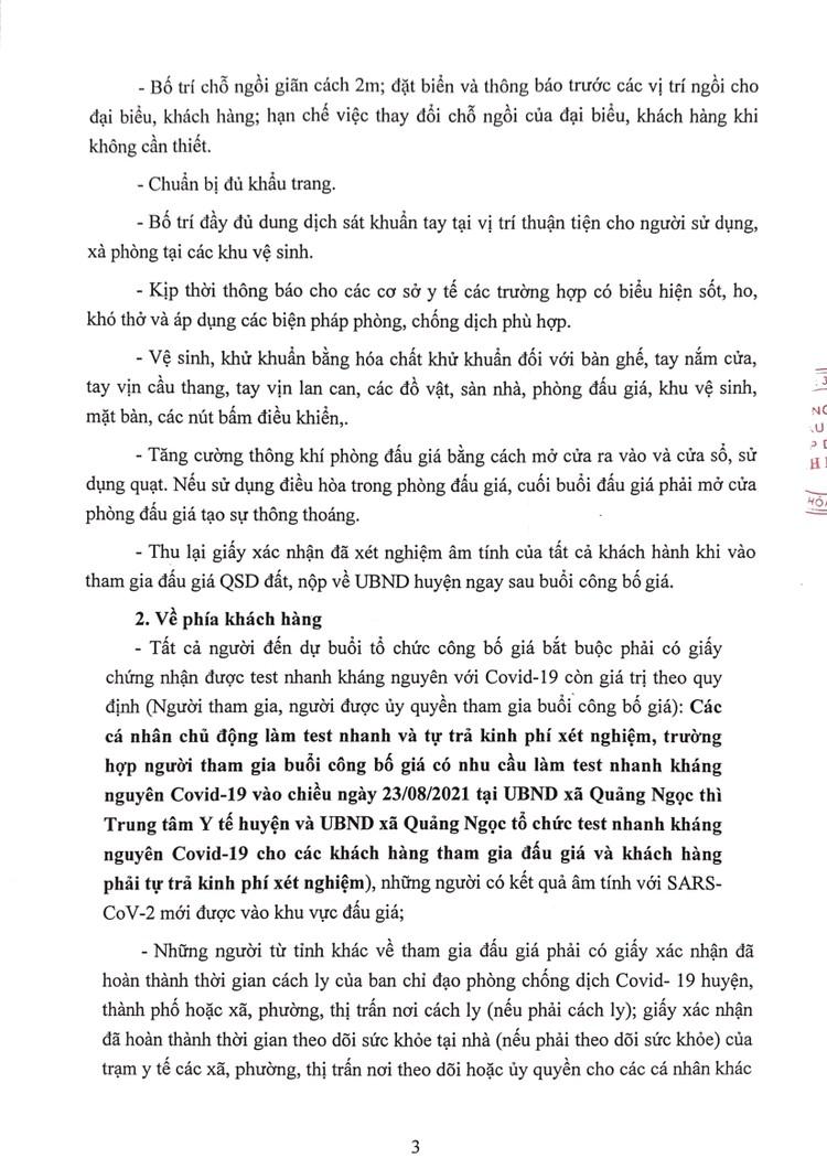 Ngày 24/8/2021, đấu giá quyền sử dụng 58 lô đất tại huyện Quảng Xương, tỉnh Thanh Hoá ảnh 4