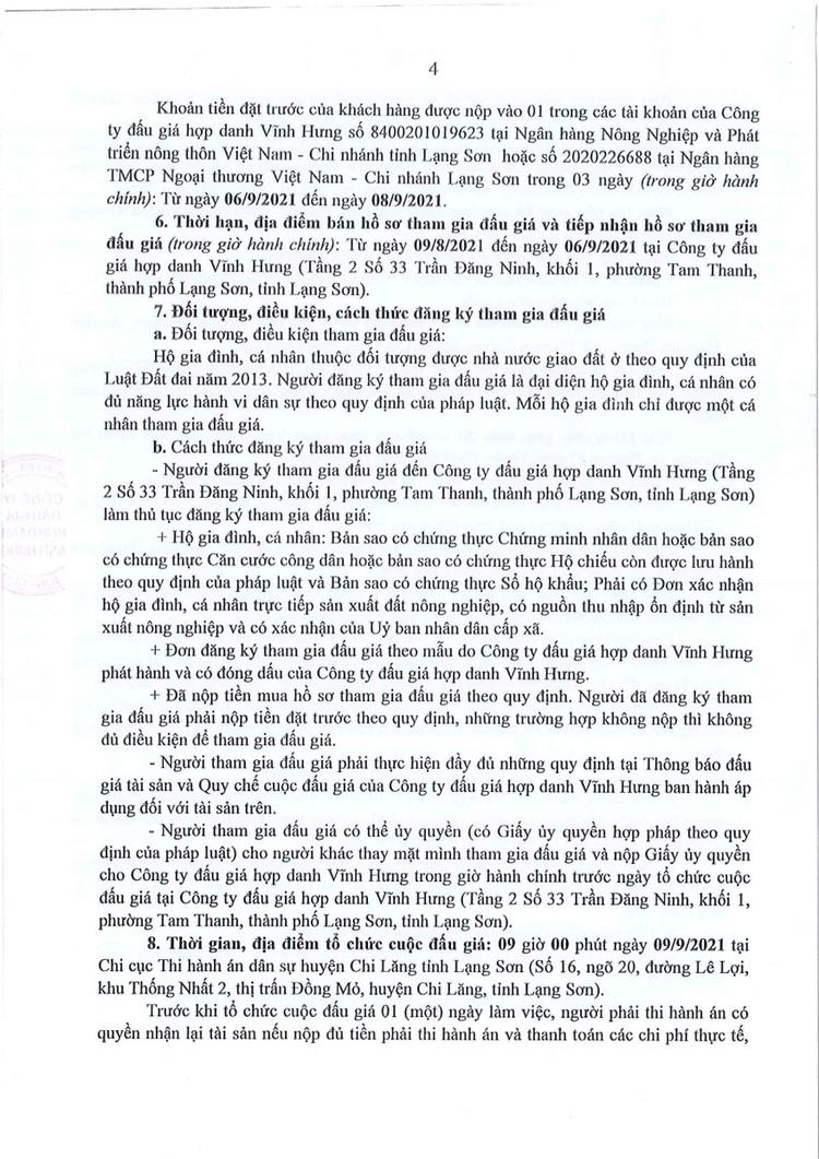 Ngày 9/9/2021, đấu giá quyền sử dụng đất tại huyện Chi Lăng, tỉnh Lạng Sơn ảnh 6