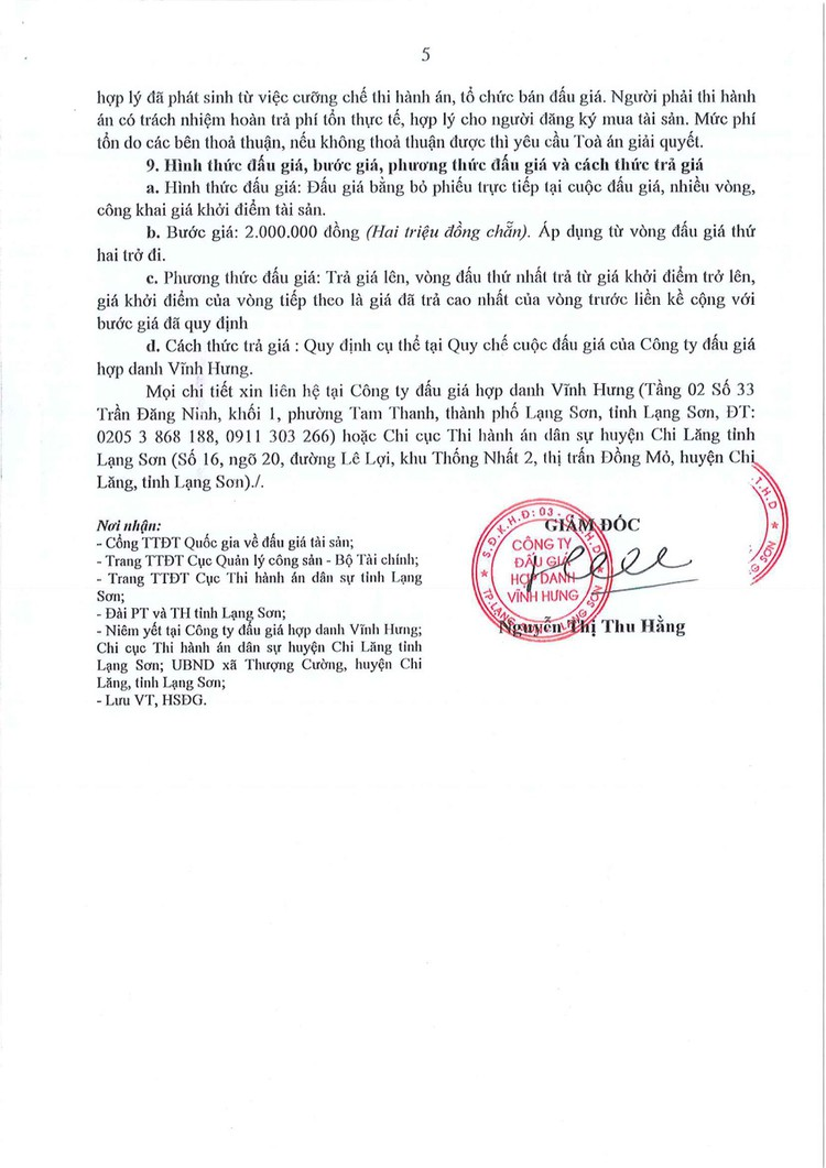 Ngày 9/9/2021, đấu giá quyền sử dụng đất tại huyện Chi Lăng, tỉnh Lạng Sơn ảnh 7