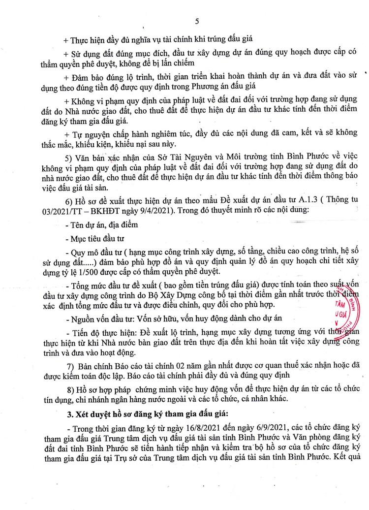 Ngày 9/9/2021, đấu giá quyền sử dụng đất tại huyện Hớn Quảng và thị xã Bình Long, tỉnh Bình Phước ảnh 6