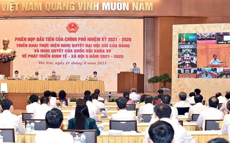 Tổng Bí thư chỉ đạo những định hướng lớn, chia sẻ sâu sắc, kỳ vọng và tin tưởng vào Chính phủ nhiệm kỳ 2021-2026 ảnh 4