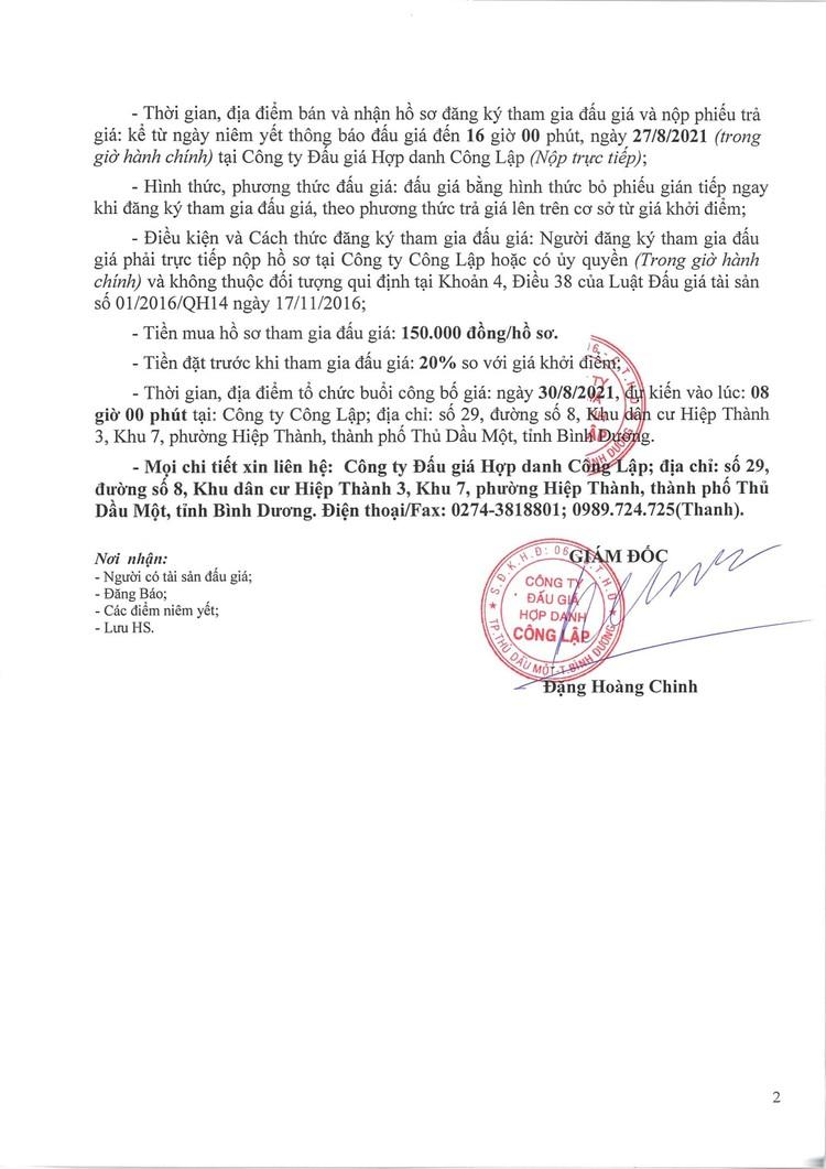 Ngày 30/8/2021, đấu giá xe ô tô Toyota tại tỉnh Bình Dương ảnh 3