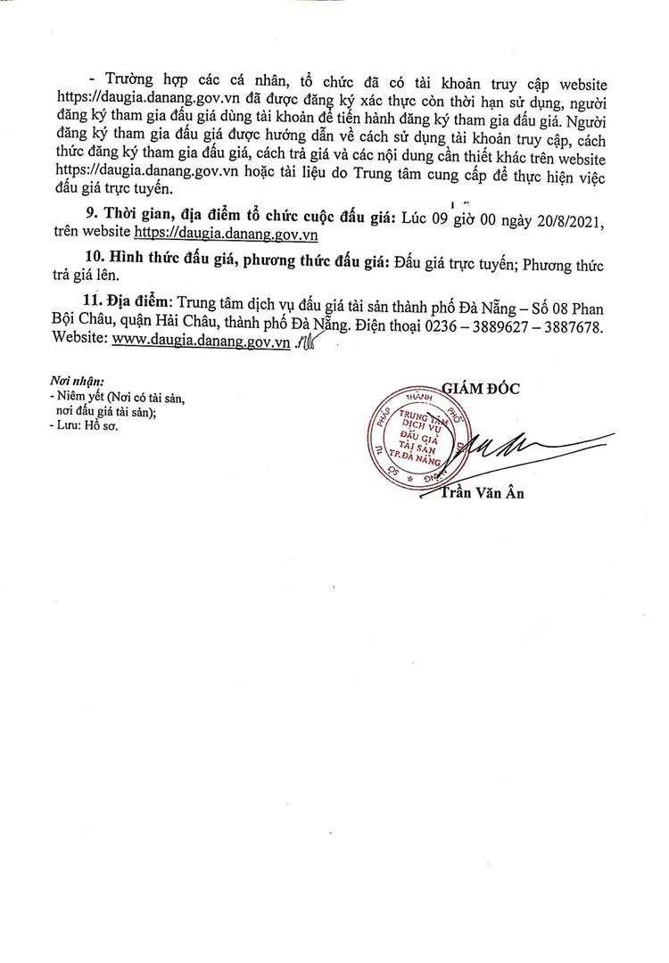 Ngày 20/8/2021, đấu giá xe ô tô Suzuki tại thành phố Đà Nẵng ảnh 3