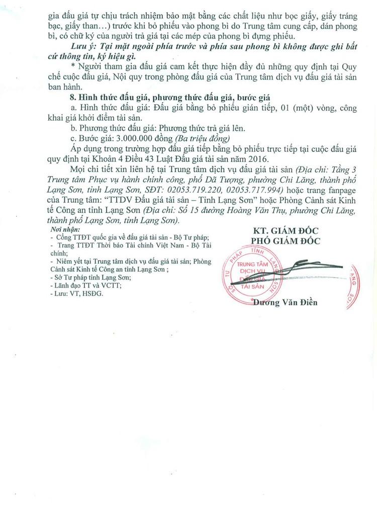 Ngày 26/8/2021, đấu giá 8 mục hàng tạp hóa các loại tại tỉnh Lạng Sơn ảnh 5