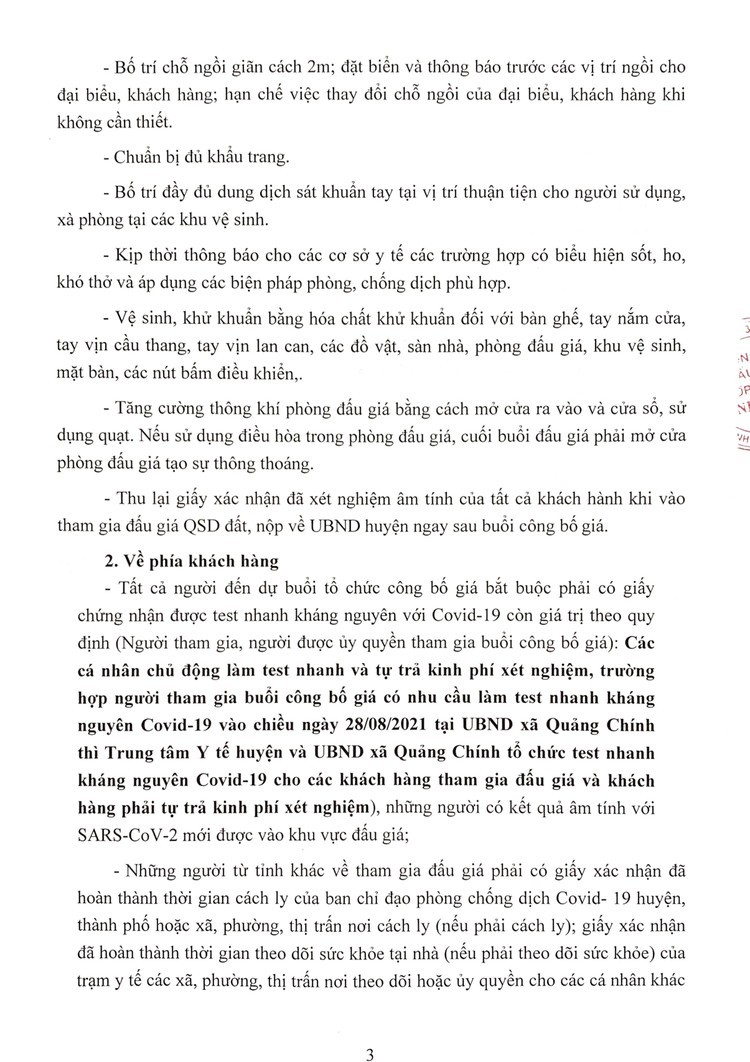 Ngày 29/8/2021, đấu giá quyền sử dụng 50 lô đất tại huyện Quảng Xương, tỉnh Thanh Hoá ảnh 4