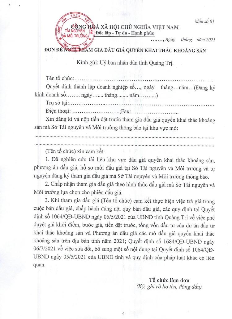 Ngày 20/11/2021, đấu giá 9 mỏ cát, sỏi tại tỉnh Quảng Trị ảnh 6