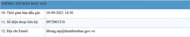 Ngày 10/9/2021, đấu giá 1 chiếc tàu cá vỏ thép tại tỉnh Thừa Thiên Huế ảnh 2