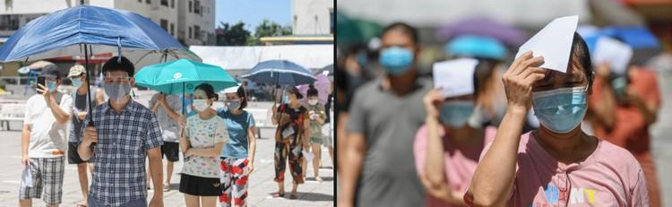 19.000 cư dân chung cư HH Linh Đàm xếp hàng chờ xét nghiệm Covidd-19 ảnh 9