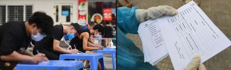 19.000 cư dân chung cư HH Linh Đàm xếp hàng chờ xét nghiệm Covidd-19 ảnh 2