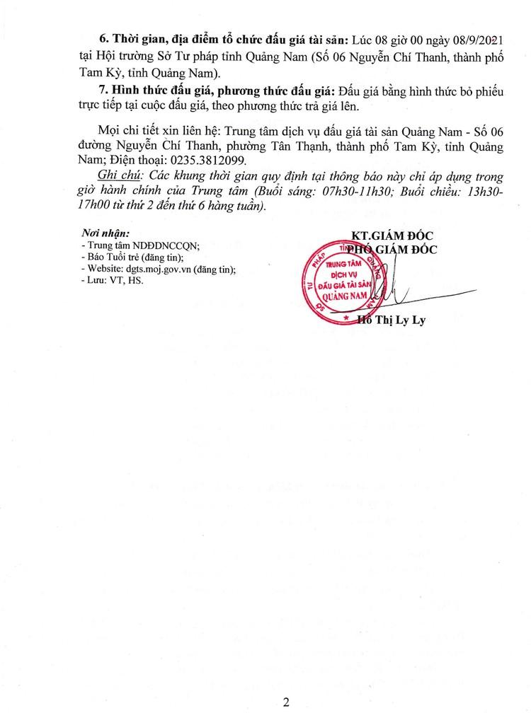 Ngày 8/9/2021, đấu giá xe ô tô Mitsubishi Joile tại tỉnh Quảng Nam ảnh 3