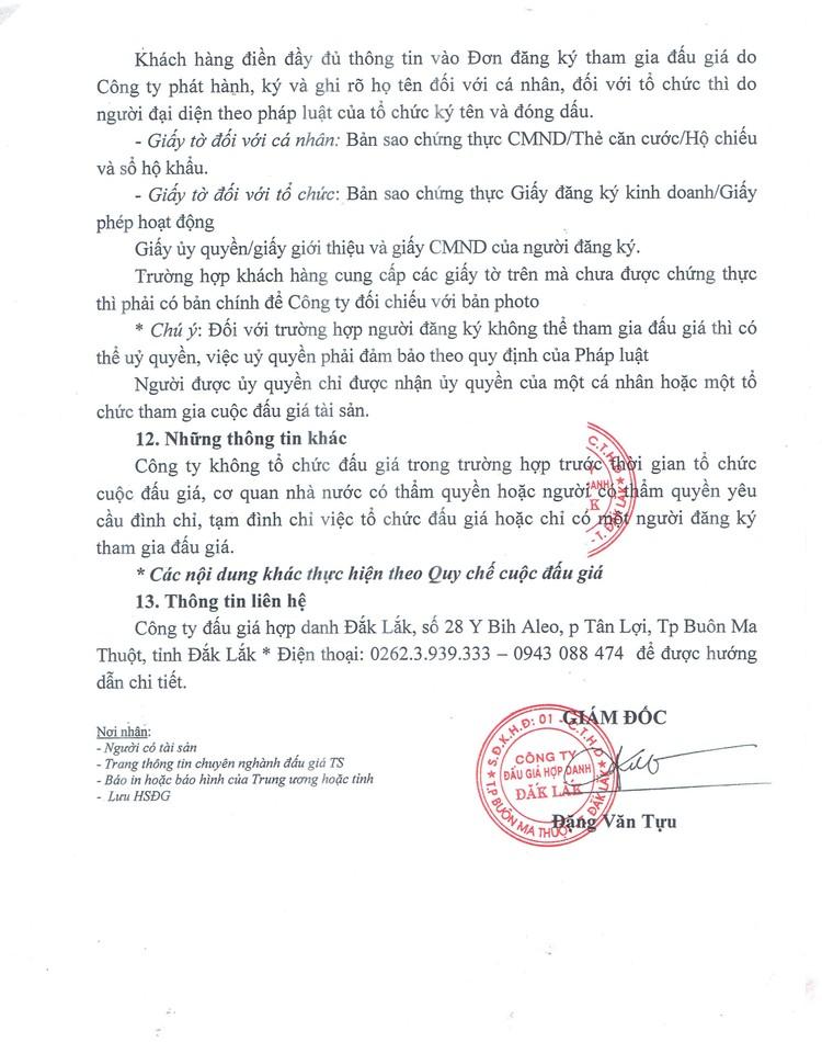 Ngày 3/9/2021, đấu giá 2 xe ô tô và máy móc thiết bị tại tỉnh Đắk Lắk ảnh 4