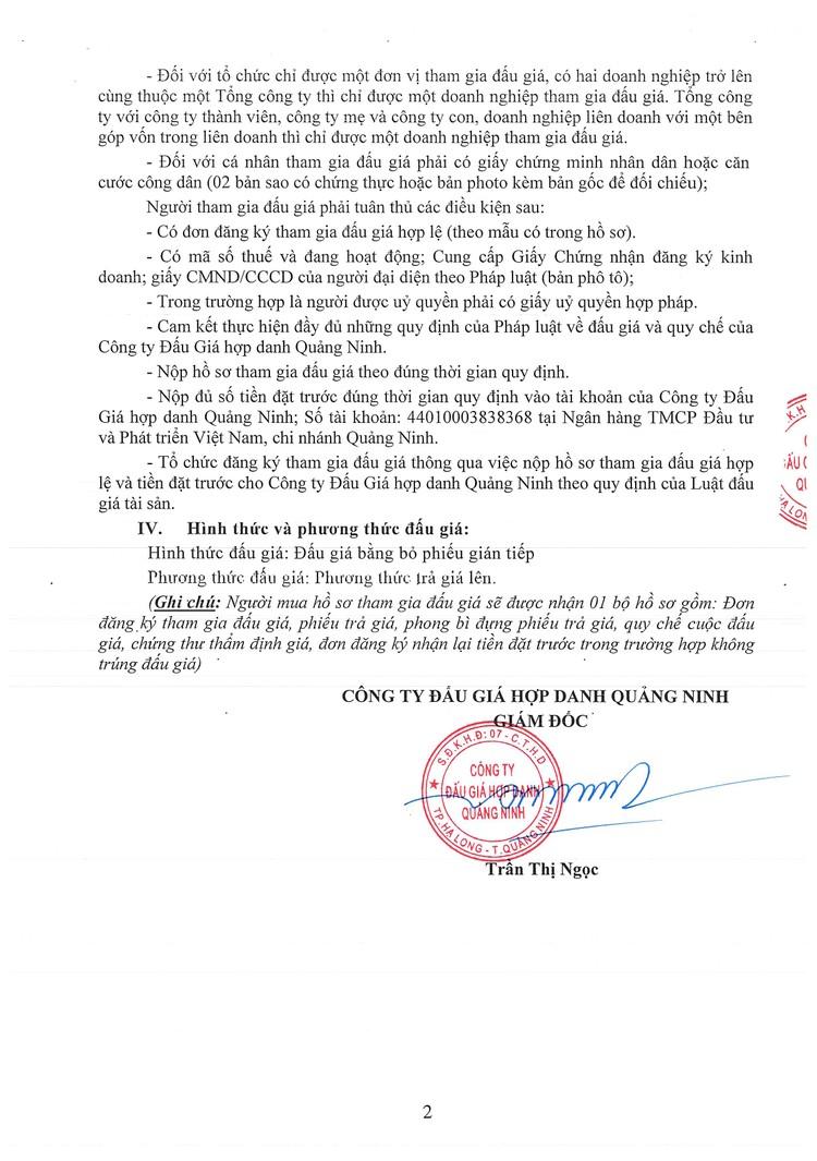 Ngày 9/9/2021, đấu giá lô vật tư, vật liệu thu hồi sau thanh lý tại tỉnh Quảng Ninh ảnh 3