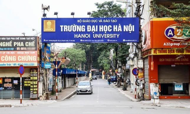 Duyệt chỉ giới mở rộng đường vào trường Đại học Hà Nội ảnh 1
