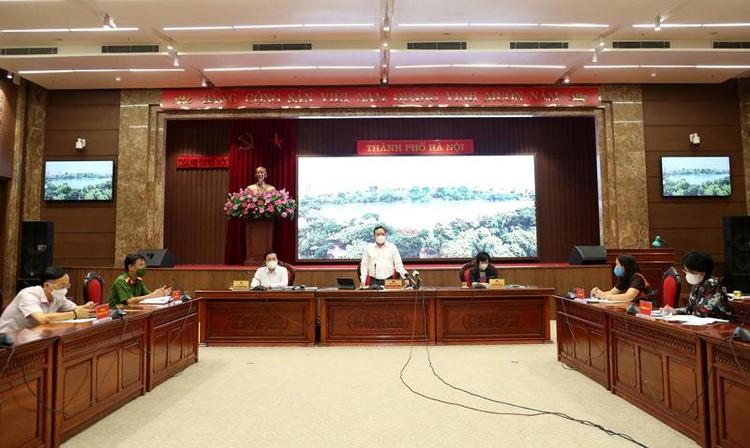 Ban Thường vụ Thành ủy Hà Nội quyết định giãn cách xã hội đến 6h ngày 6/9/2021 ảnh 1