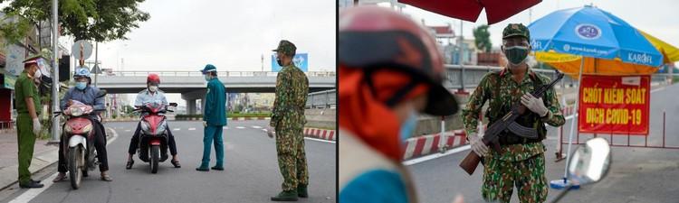 Hình ảnh ngày đầu quân đội tham gia siết chặt giãn cách xã hội ở TP.HCM ảnh 14