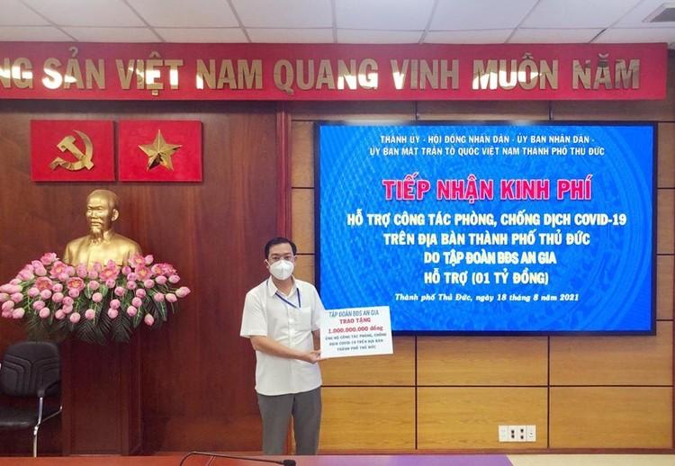 An Gia tiếp tục ủng hộ 7 tỷ đồng cho công tác phòng, chống dịch tại tỉnh Bà Rịa - Vũng Tàu ảnh 1
