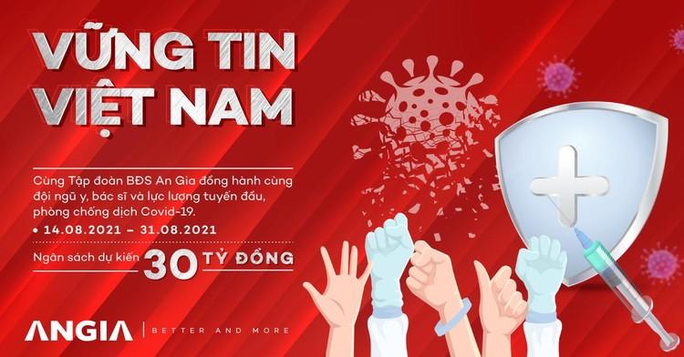 An Gia tiếp tục ủng hộ 7 tỷ đồng cho công tác phòng, chống dịch tại tỉnh Bà Rịa - Vũng Tàu ảnh 3