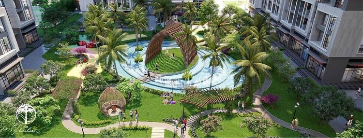 Chiêm ngưỡng đảo Yoga giữa vườn sinh thái 1,6ha tại The Pavilion – Vinhomes Ocean Park ảnh 2