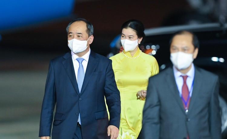 Không lực 2 đưa Phó Tổng thống Mỹ tới Hà Nội thăm chính thức Việt Nam ảnh 4