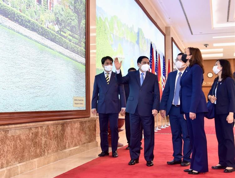 Thủ tướng Phạm Minh Chính tiếp Phó Tổng thống Hoa Kỳ Kamala Harris ảnh 1