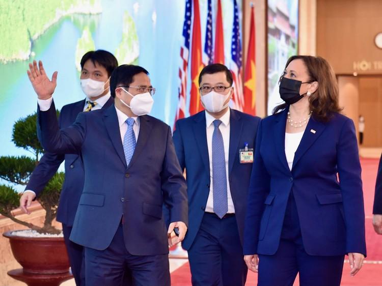 Thủ tướng Phạm Minh Chính tiếp Phó Tổng thống Hoa Kỳ Kamala Harris ảnh 2