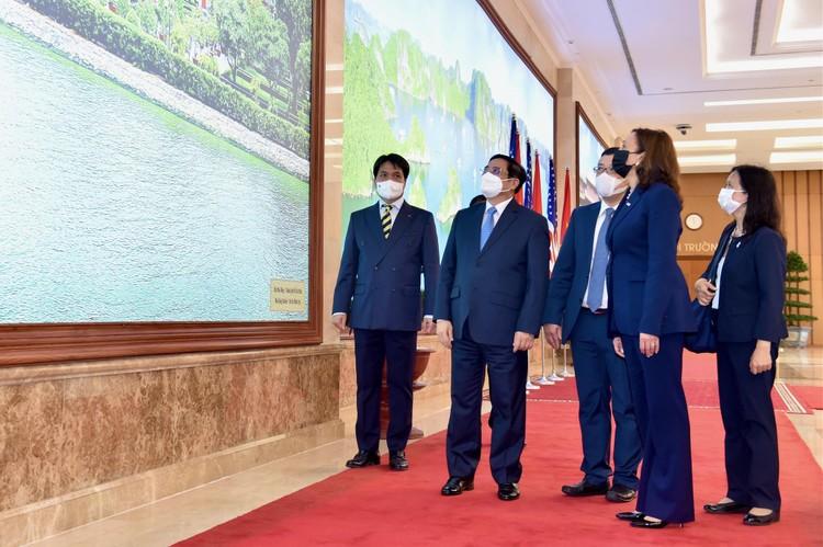 Thủ tướng Phạm Minh Chính tiếp Phó Tổng thống Hoa Kỳ Kamala Harris ảnh 3