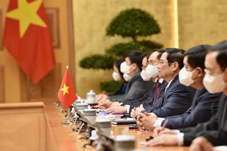 Thủ tướng Phạm Minh Chính tiếp Phó Tổng thống Hoa Kỳ Kamala Harris ảnh 4
