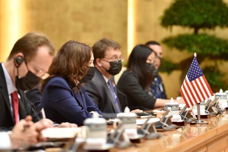 Thủ tướng Phạm Minh Chính tiếp Phó Tổng thống Hoa Kỳ Kamala Harris ảnh 5