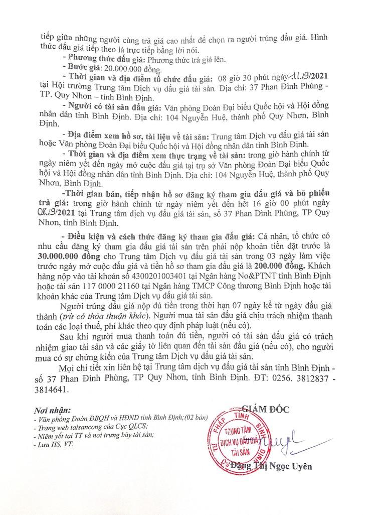Ngày 27/8/2021, đấu giá xe ô tô Toyota Zace tại tỉnh Bình Định ảnh 3