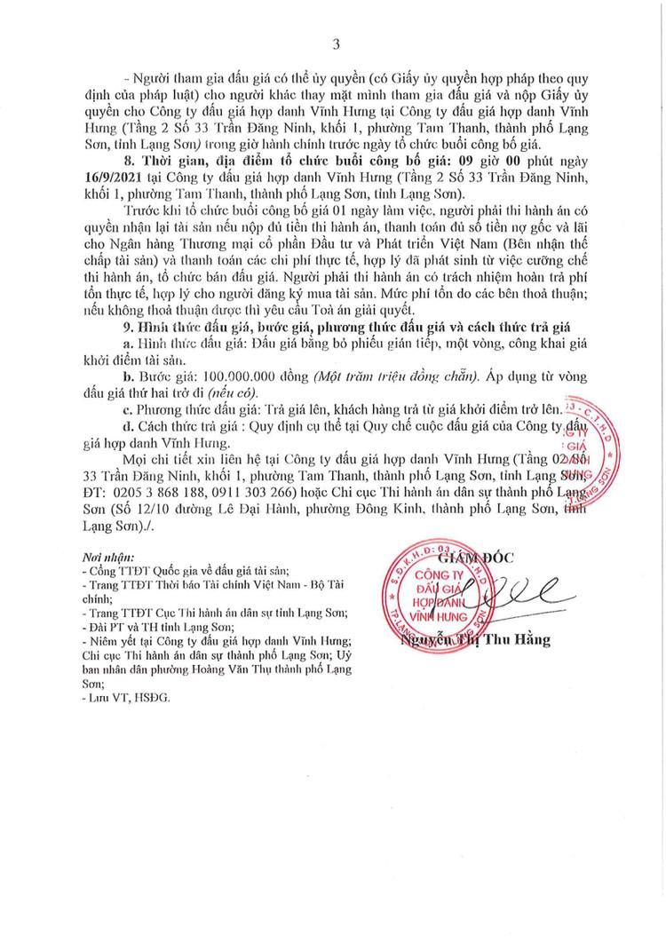Ngày 16/9/2021, đấu giá quyền sử dụng 150,4m2 đất tại thành phố Lạng Sơn, tỉnh Lạng Sơn ảnh 4