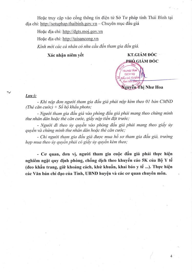 Ngày 10/9/2021, đấu giá xe ô tô Toyota tại tỉnh Thái Bình ảnh 5