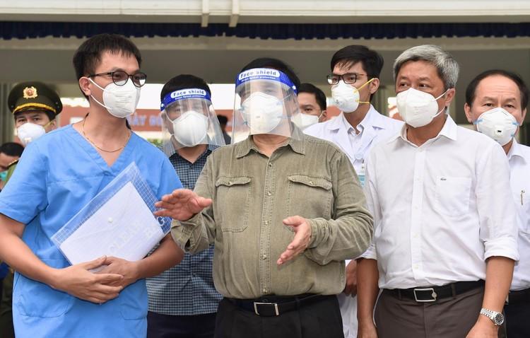 Thủ tướng Phạm Minh Chính kiểm tra, chỉ đạo, động viên công tác chống dịch tại Bình Dương ảnh 5