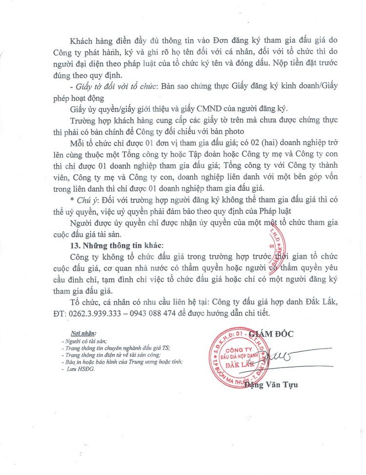 Ngày 17/9/2021, đấu giá cơ sở nhà, đất tại thành phố Buôn Ma Thuột, tỉnh Đắk Lắk ảnh 5
