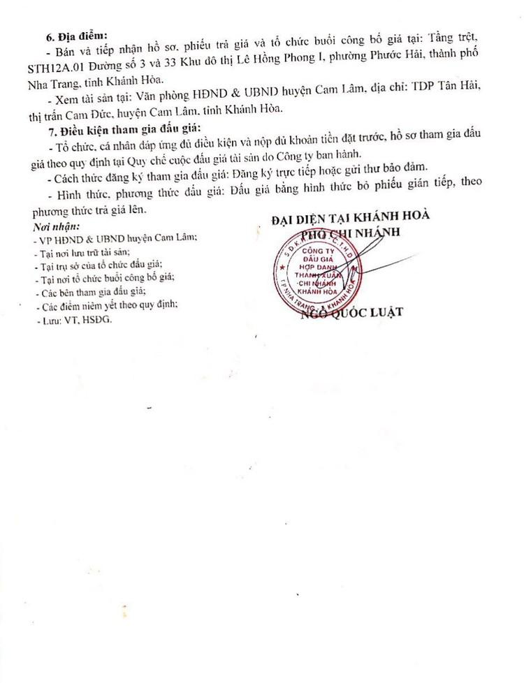 Ngày 10/9/2021, đấu giá xe ô tô đã qua sử dụng tại tỉnh Khánh Hòa ảnh 3