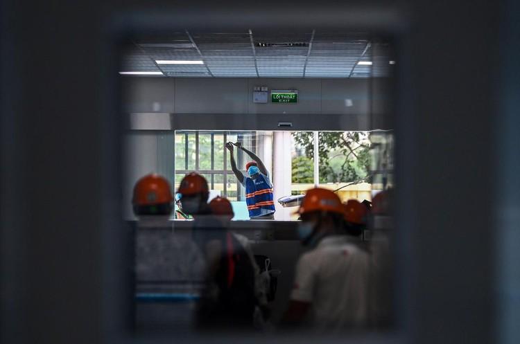 Bệnh viện dã chiến hiện đại nhất Hà Nội trước ngày hoạt động ảnh 14