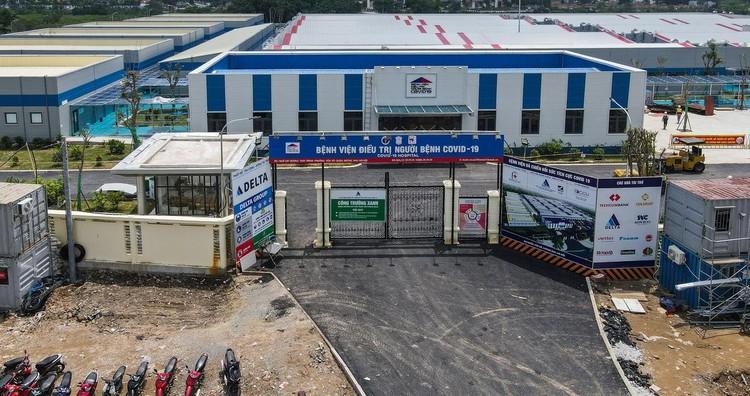 Bệnh viện dã chiến hiện đại nhất Hà Nội trước ngày hoạt động ảnh 15
