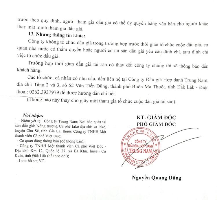 Ngày 16/9/2021, đấu giá hệ thống máy chế biến, sấy cà phê tại tỉnh Đắk Lắk ảnh 4