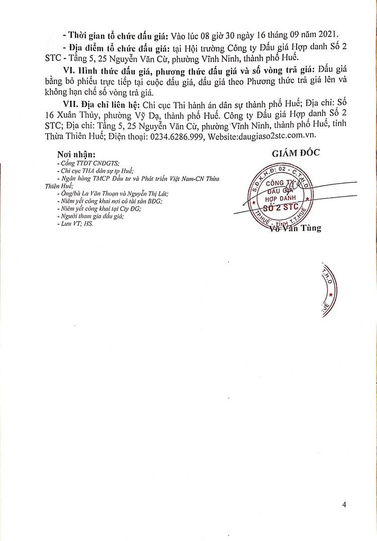 Ngày 16/9/2021, đấu giá tàu đánh cá vỏ gỗ tại tỉnh Thừa Thiên Huế ảnh 5